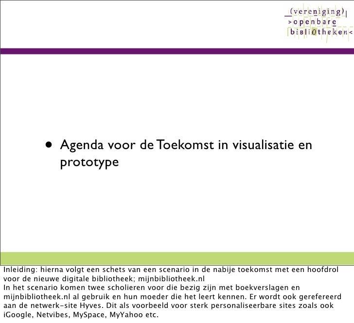 Visualisatie Agenda Toekomst