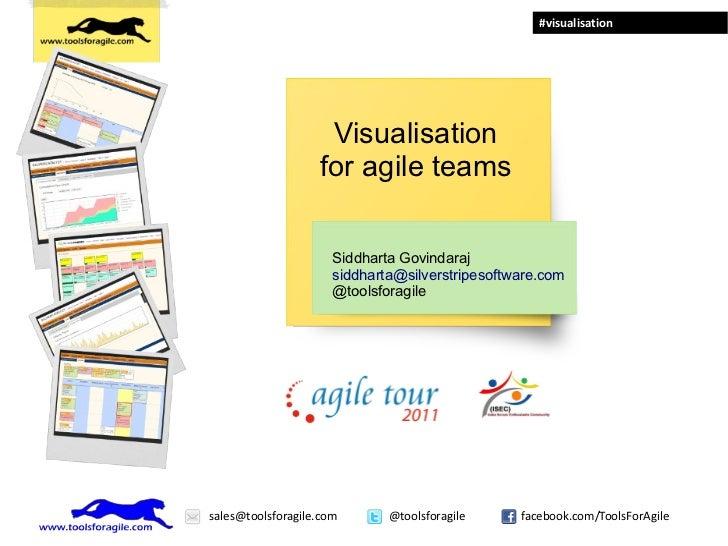 #visualisation                    Visualisation                   for agile teams                      Siddharta Govindara...