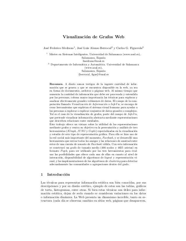 Visualizacion de grafos Web