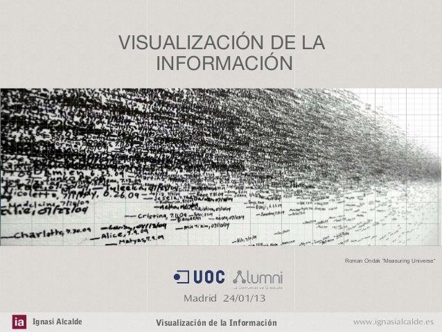 Visualización de la Información