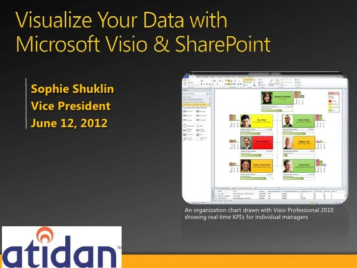 Sophie ShuklinVice PresidentJune 12, 2012                 An organization chart drawn with Visio Professional 2010        ...