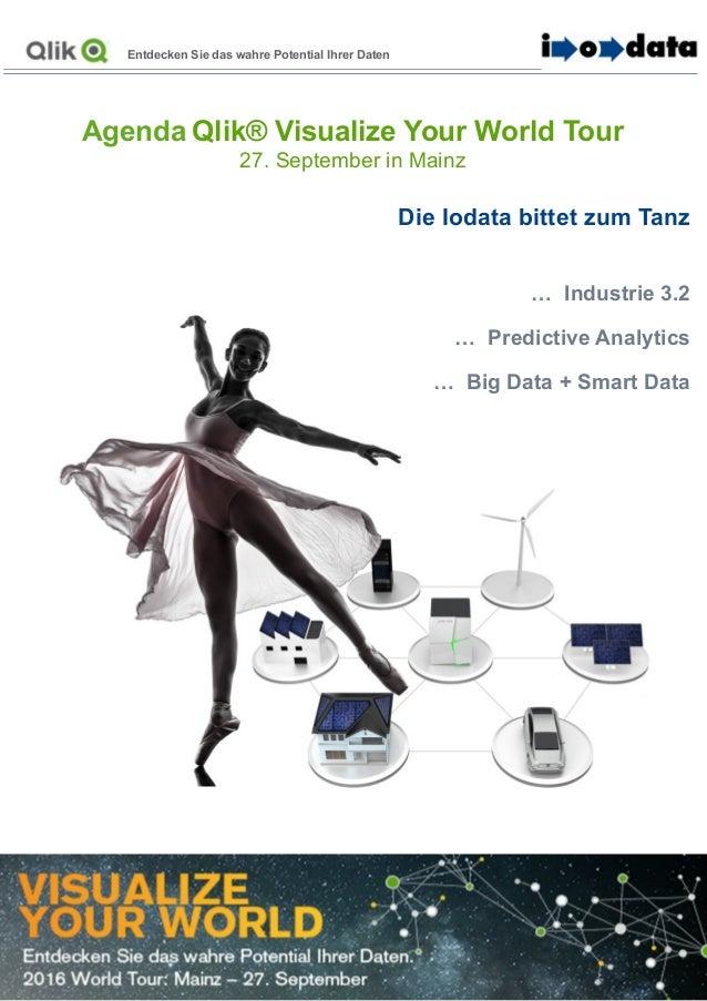 Entdecken Sie das wahre Potential Ihrer Daten Die Iodata bittet zum Tanz … Industrie 3.2 … Predictive Analytics … Big Data...