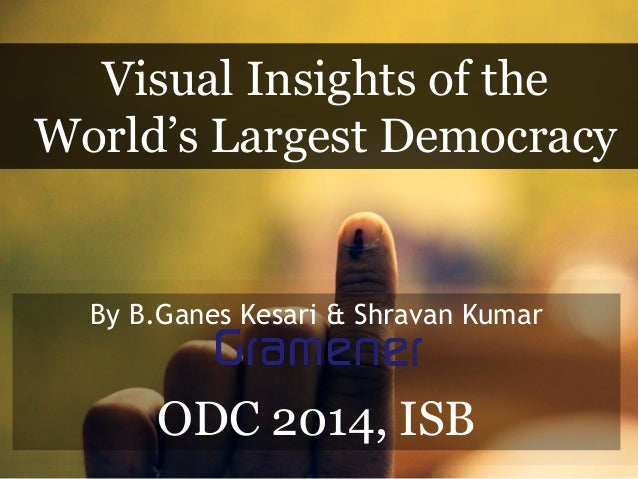 Visualizing the Indian Elections