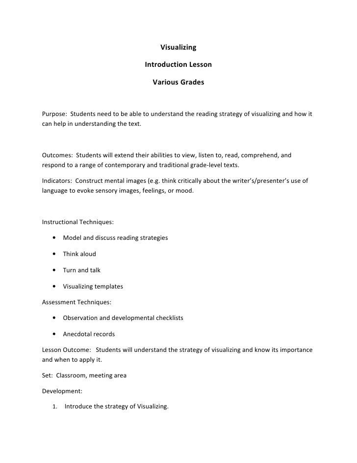 Visualizing                                       Introduction Lesson                                          Various Gra...