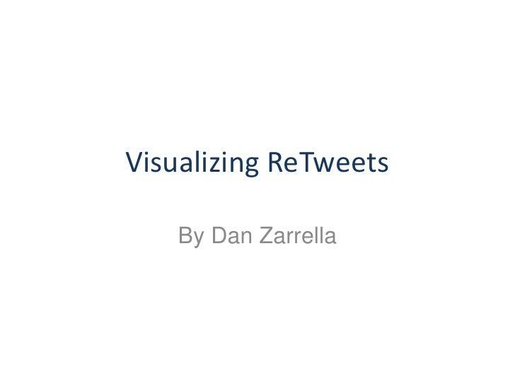 Visualizing ReTweets     By Dan Zarrella