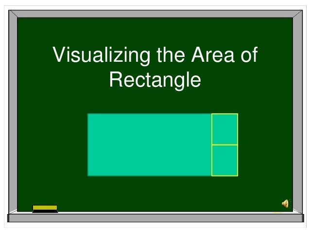 Visualizing the Area of      Rectangle