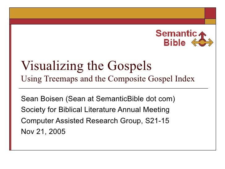 Visualizing the Gospels Using Treemaps and the Composite Gospel Index