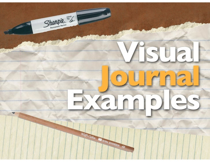 Visual Journal examples