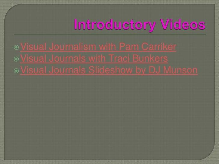 Visual Journals