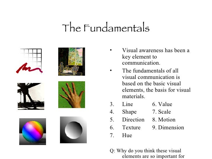 communication and visual literacy Words versus pictures: leveraging the research on visual incorporate visual and multimedia literacy leveraging the research on visual communication.
