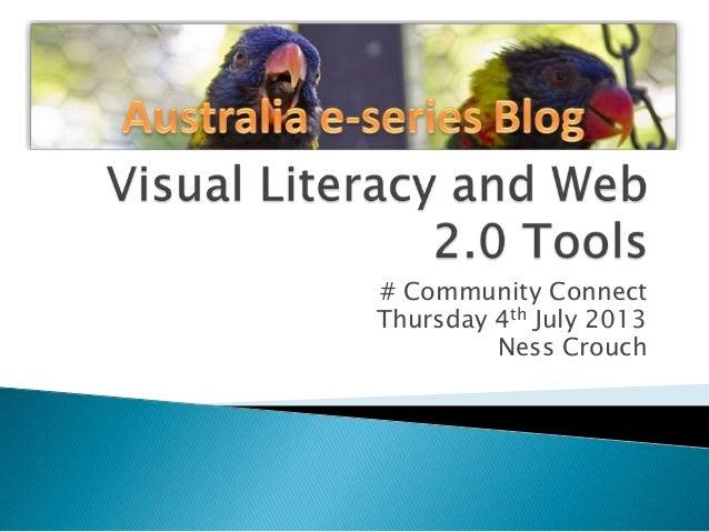 Visual literacy and web 2