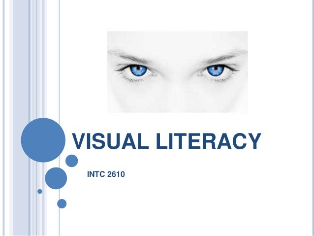 VISUAL LITERACY INTC 2610