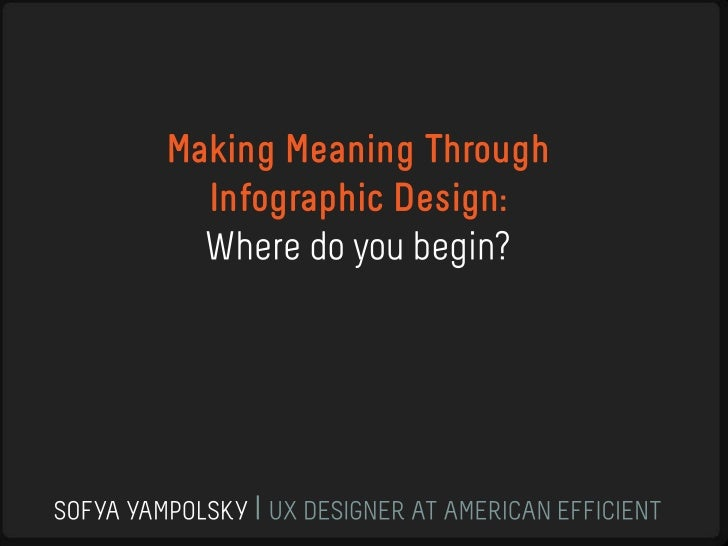 Making Meaning Through Infographic Design
