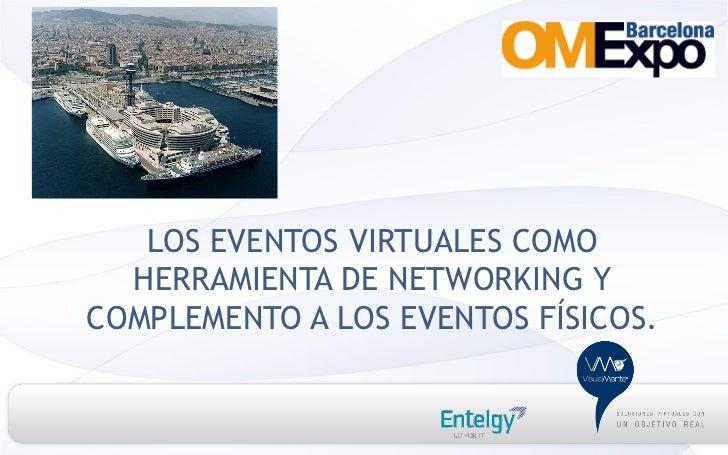 LOS EVENTOS VIRTUALES COMO  HERRAMIENTA DE NETWORKING YCOMPLEMENTO A LOS EVENTOS FÍSICOS.
