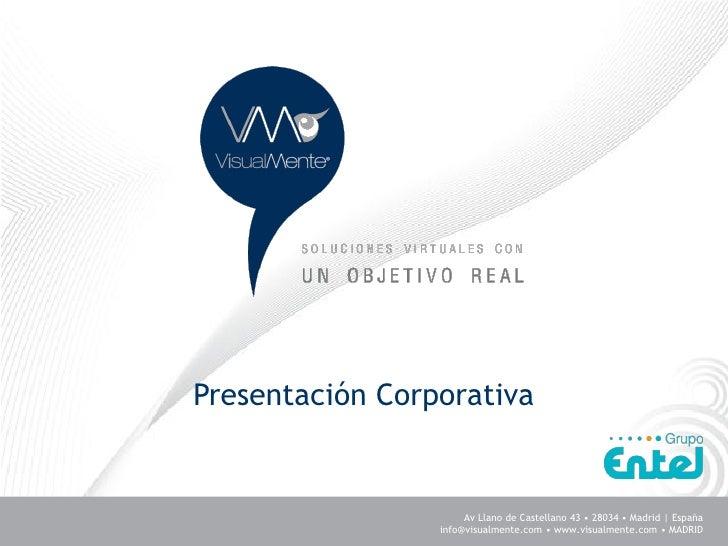 VisualMente Presentación Corporativa 2011