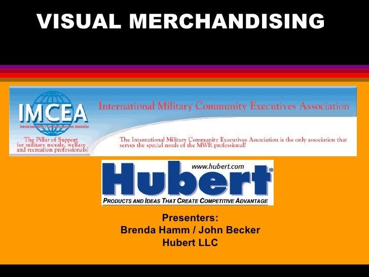 Visual merchandising seminar for imcea