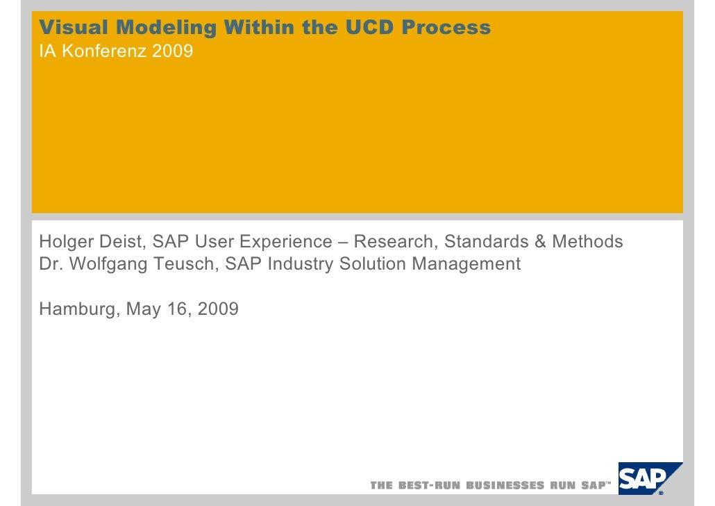 Visual Modeling Within UCD (English)