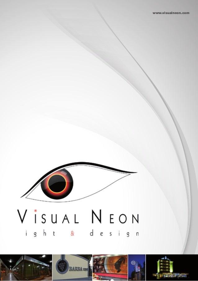 Visualneon - brochure