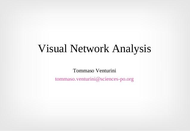 Visual Network Analysis