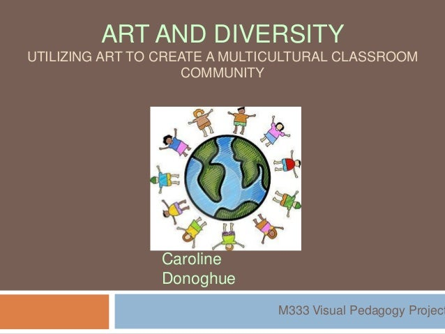 ART AND DIVERSITYUTILIZING ART TO CREATE A MULTICULTURAL CLASSROOM                    COMMUNITY                Caroline   ...