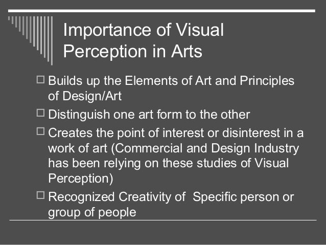 visual perception lecture 2