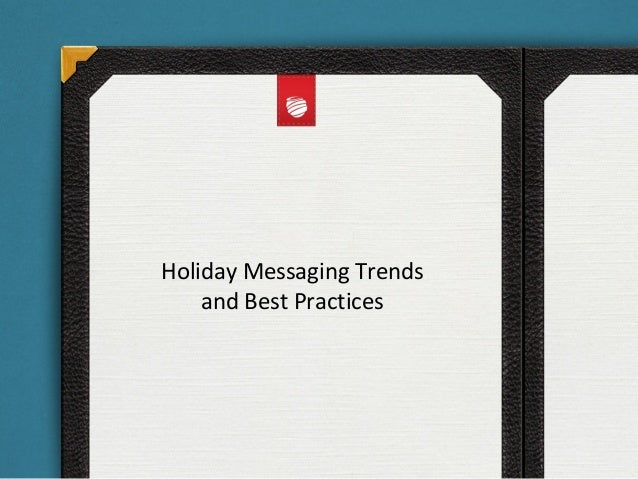 Holiday Messaging Trends and Best Practices