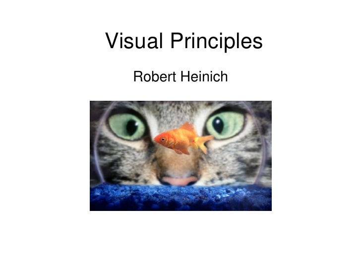 Visual Principles<br />Robert Heinich<br />