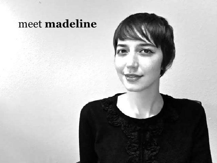 Meet Madeline: visual resume