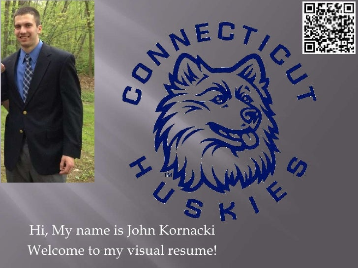 Hi, My name is John KornackiWelcome to my visual resume!