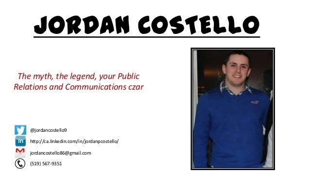 Introducing Jordan, A Video Resume