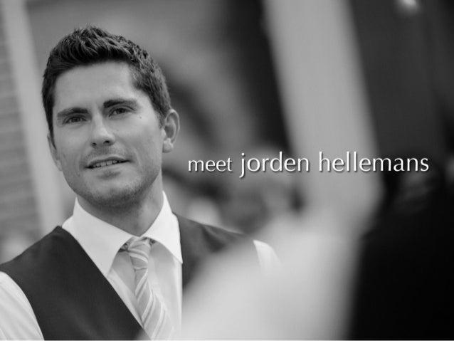 Visual Resume Jorden Hellemans