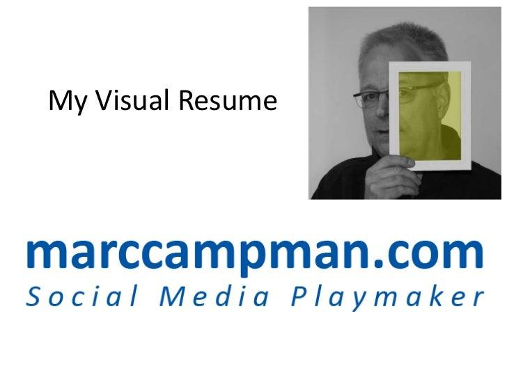 Visual Resume of Marc Campman