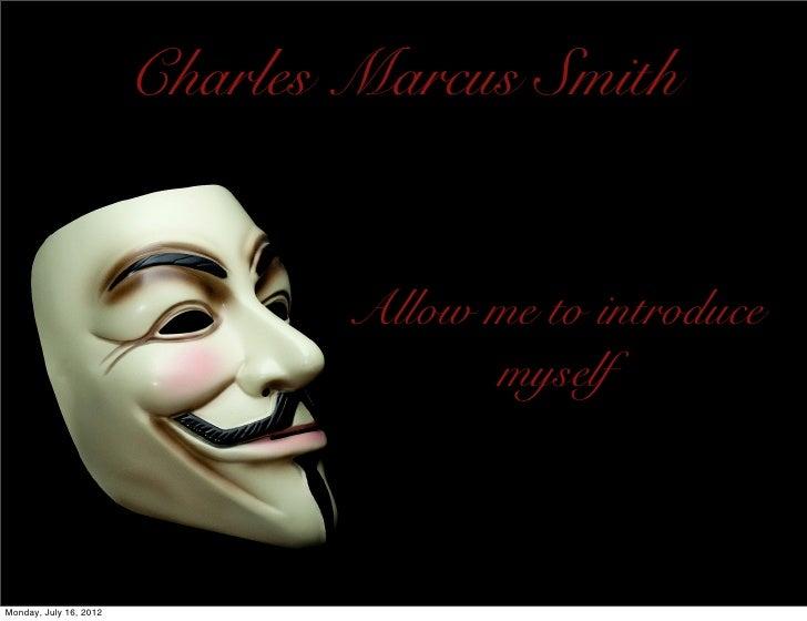Charles Smith Visual Resume