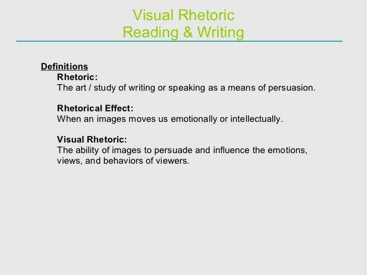 Visual Rhetoric Essay