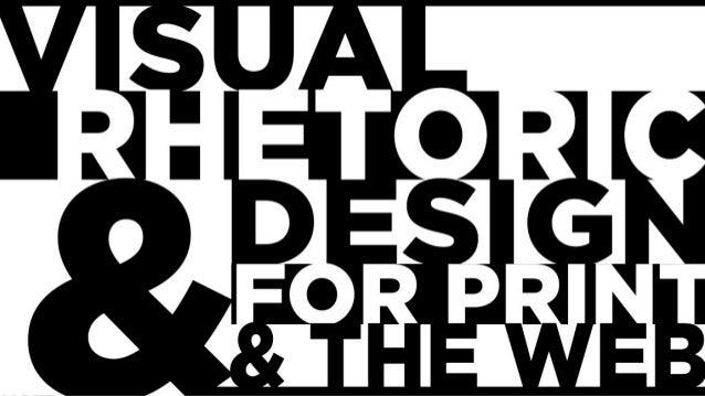 Visual Rhetoric, September 18, 2013