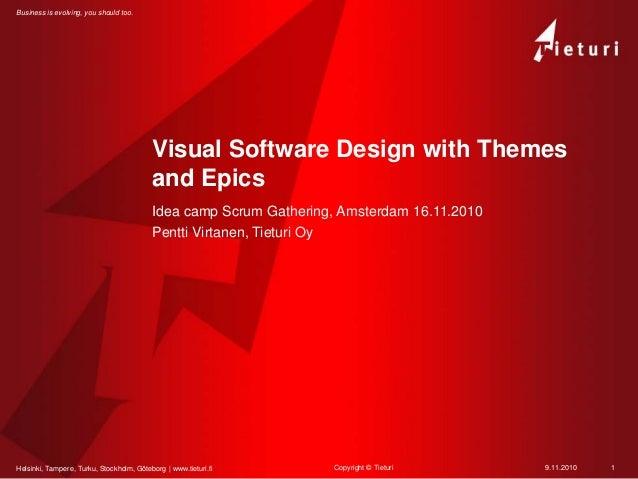Helsinki, Tampere, Turku, Stockholm, Göteborg | www.tieturi.fi Business is evolving, you should too. Visual Software Desig...