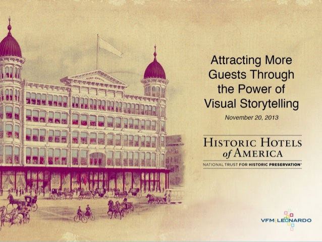 Attracting More Guests Through the Power of Visual Storytelling