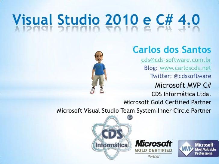 Visual Studio 2010 e C# 4