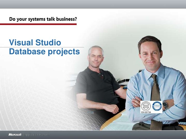 Database Project in Visual Studio 2010