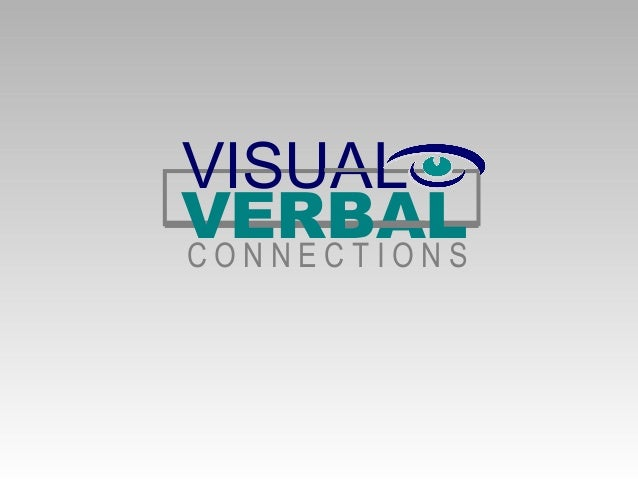 Visual verbal connections