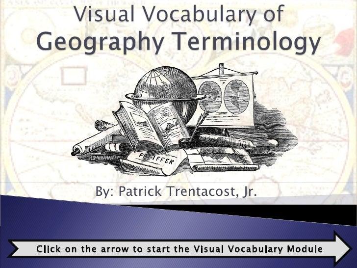 Visual Vocab - Geography