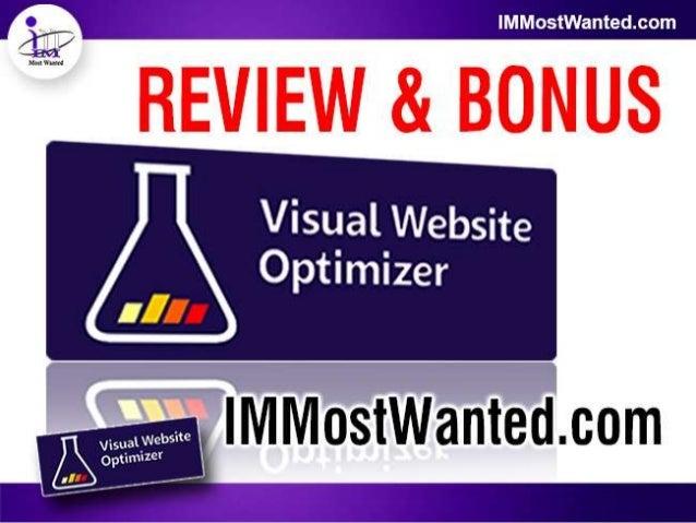 Visual Website Optimizer Review & Bonus