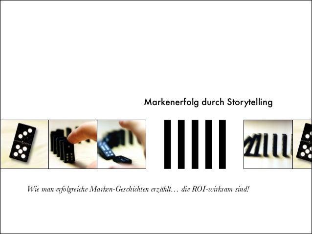Mehr Markenbekanntheit durch visuelles Storytelling