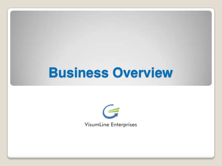 Business Overview<br />