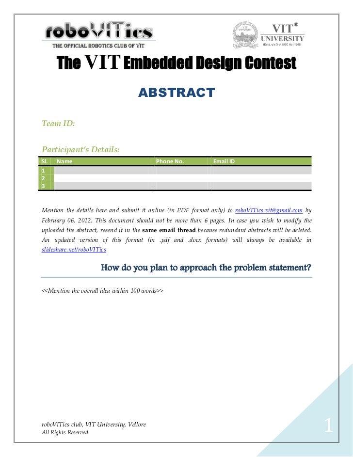 VIT-EDC Abstract .pdf Format v1.1