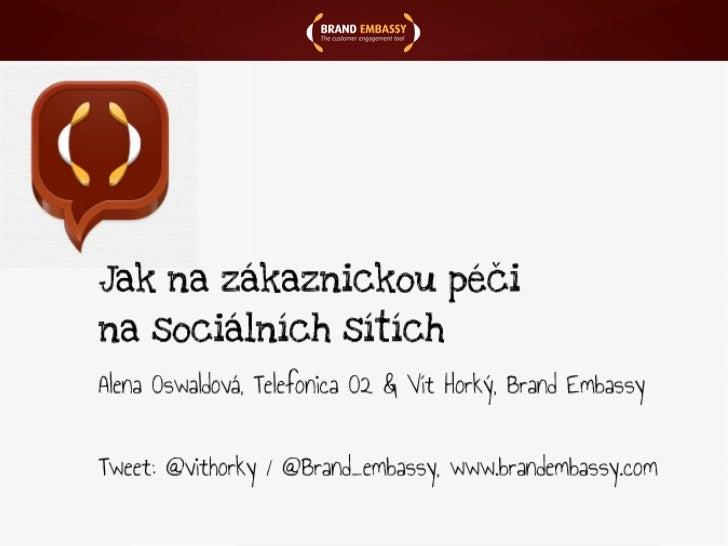 Vít Horký - Jak na zákaznickou péči na sociálních médiích