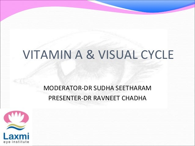 Cycle Vitamin Vitamin a Visual Cycle