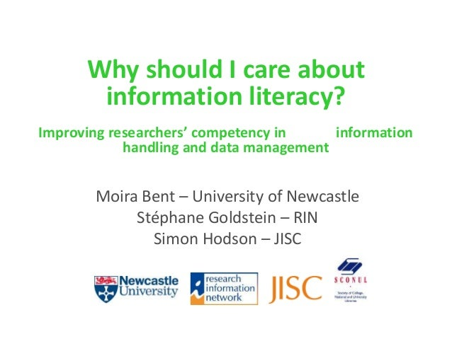 Why should I care about information literacy?