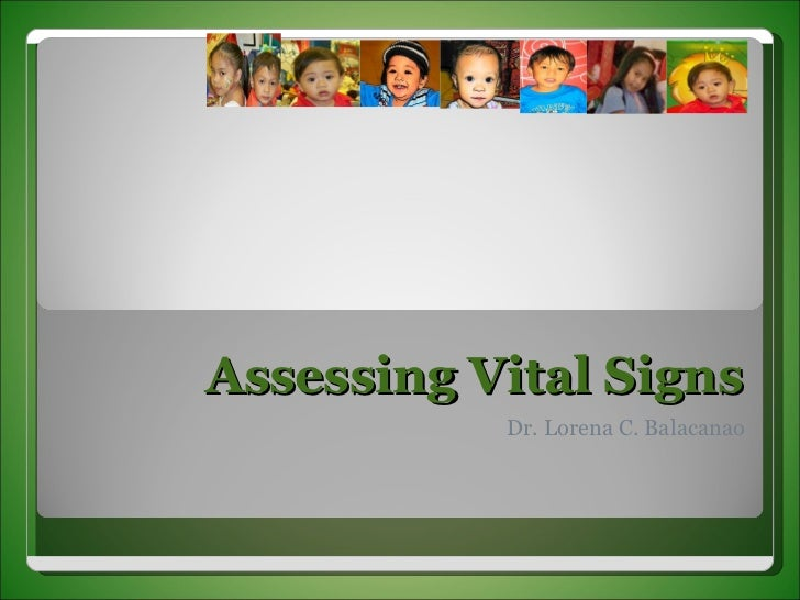 Vital Signs Taking