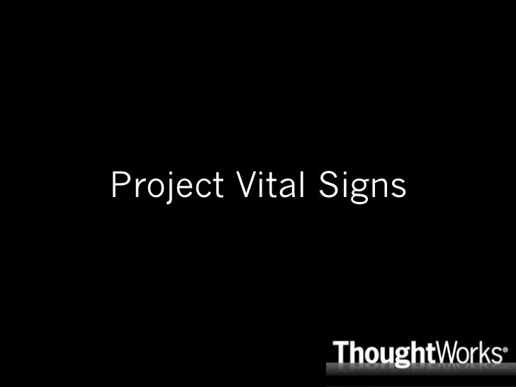 Project Vital Signs